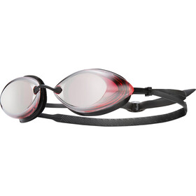 TYR Tracer Racing Mirrored Goggles Red/Silver